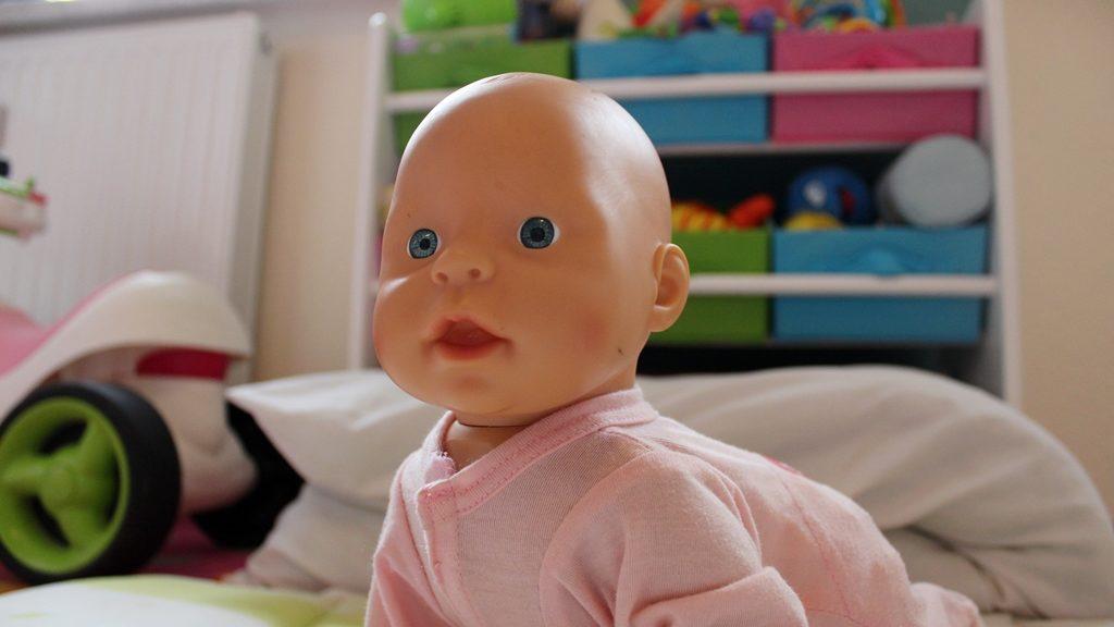 Wenn Papa mit den Puppen spielt