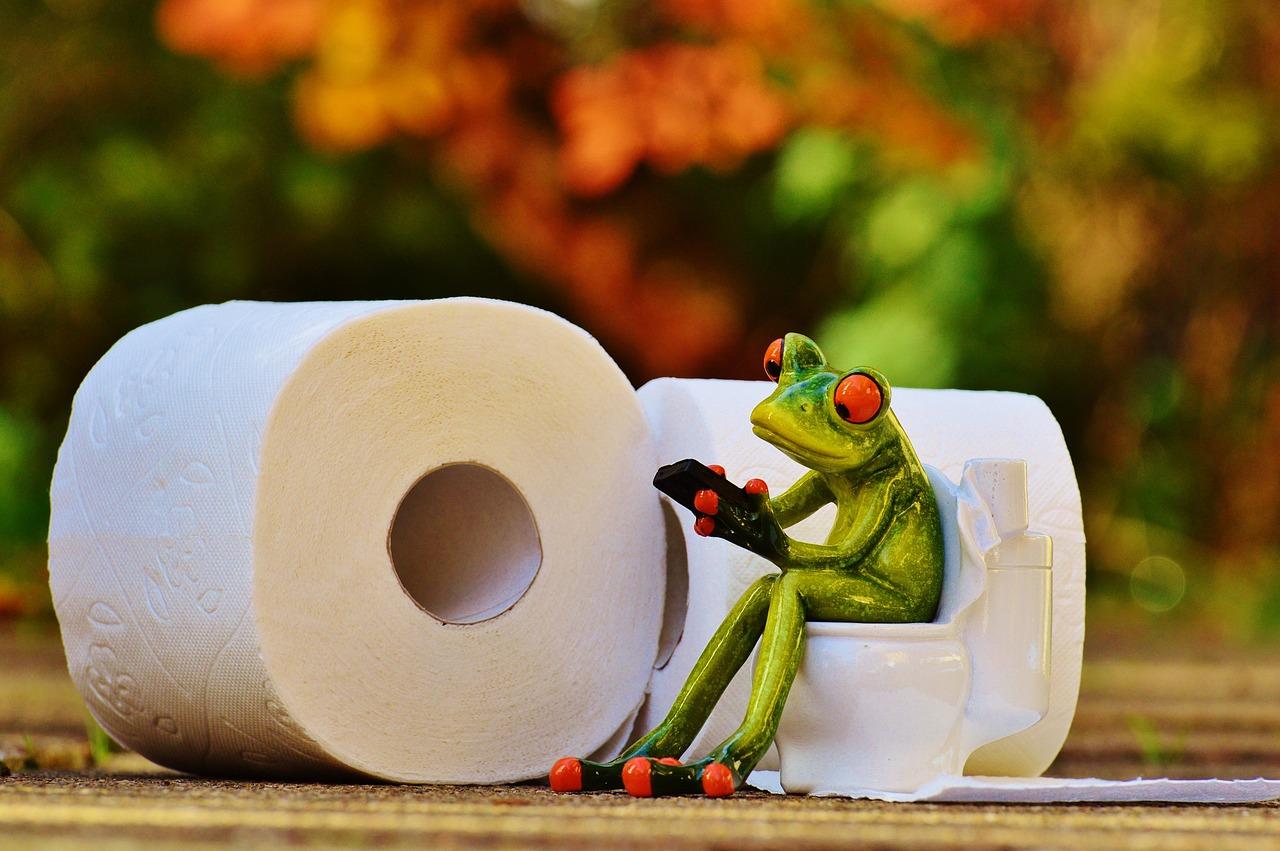 """Lachen und Spielen #1: """"Stille Momente auf der Toilette"""""""